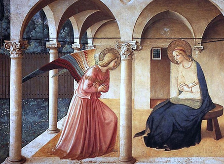The Annunciation and Good Friday
