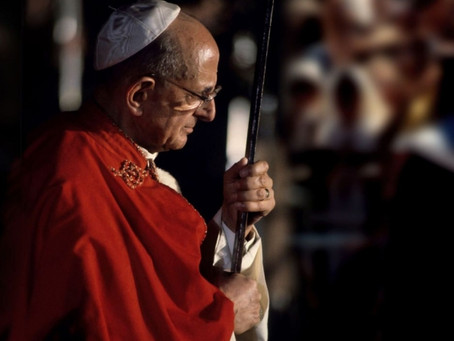 """Pope St. Paul VI: """"Mary is the Poetess and Prophetess of Redemption."""""""