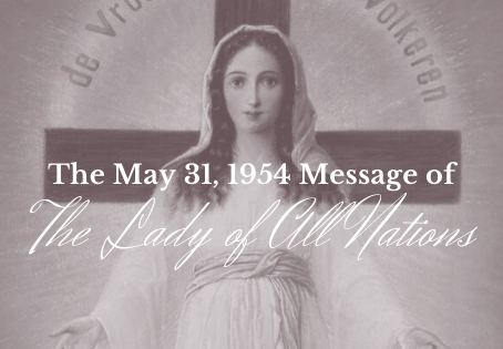 The Lady of All Nations - May 31, 1954