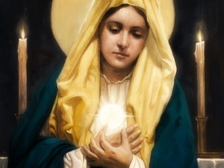 The Blessed Sacrament and the Blessed Virgin Mary