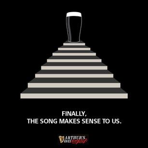 "Guinness: Led Zeppelin ""Stairway to heaven"""