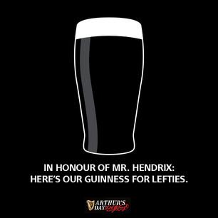 Guinness: Jimi Hendrix
