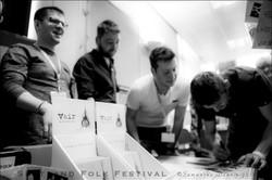 Signings at album launch