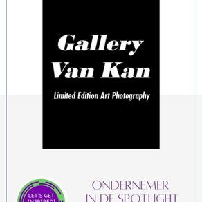 Ondernemer in de spotlight : Ludwig Van Kan van Gallery Van Kan