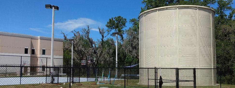 Florida Fire Protection Storage Tank