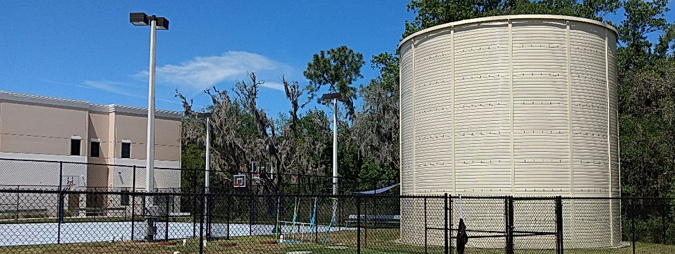 Florida Fire Protection Storage Tank