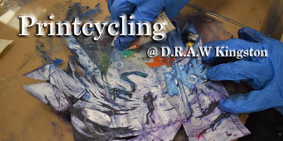 Printcycling @ D.R.A.W Kingston