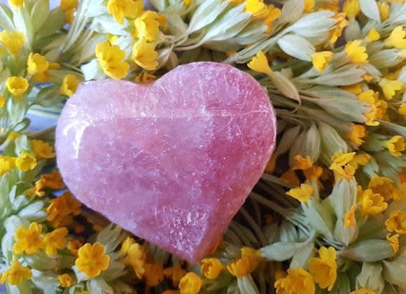 Savon de Sel Rose de L'Himalaya / Forme  Coeur / 250g