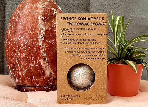 Eponge Spéciale Yeux Classique au Konjac 100 % Naturel