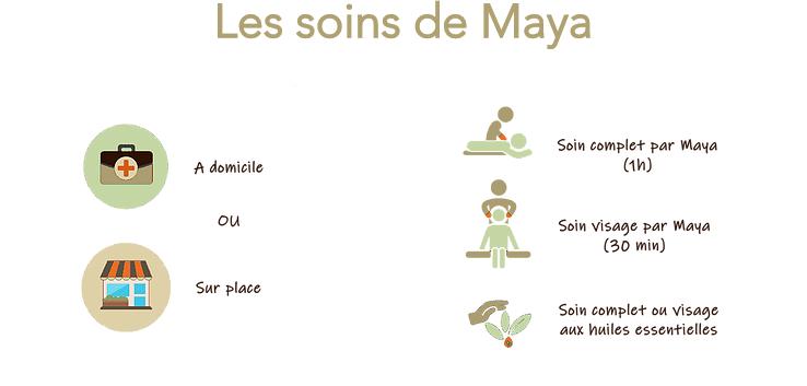 Les formules de soin de Maya
