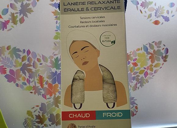 Thermo-Confort Cervicales  aux Perles d'Argiles+Perles Charbon