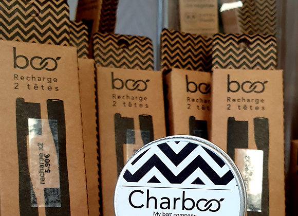 Charbon actif 100% Naturel