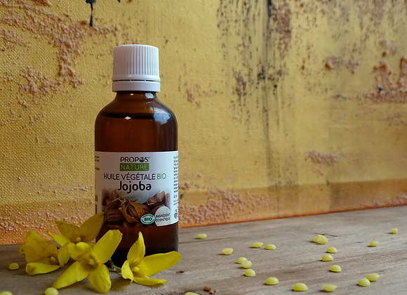 Huile Végétale de Jojoba Bio /Simmondsia Chinensis / 50 ml