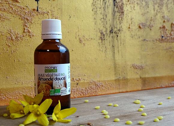 Huile Végétale d'Amande Douce Bio / 50 ml
