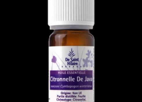 Citronnelle de Java Bio  /   Cymbopogon Winterianus / 10 ml