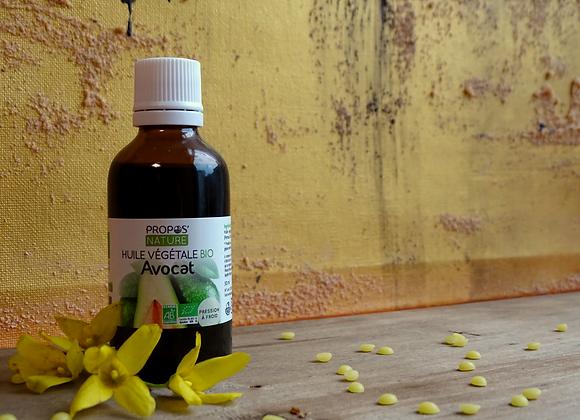 Huile Végétale Bio d'Avocat / Persea Gratissima / 50 ml