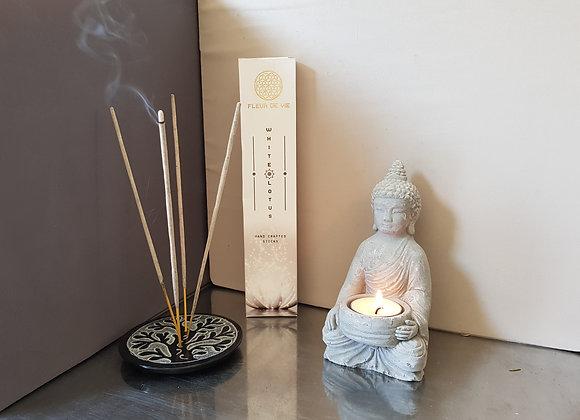 Encens Fleur de Vie -White Lotus / 15g / De 10 à 12 Bâtonnets