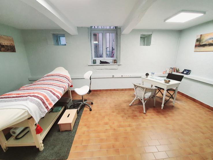 Notre salle de soins