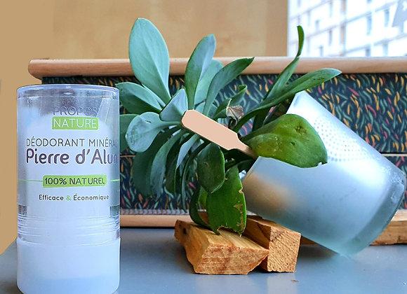 Déodorant Minéral Pierre d'Alun