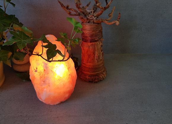 Lampe de Sel Himalaya Brute Sans Socle / Hauteur 20 cm/ Provenance Népal