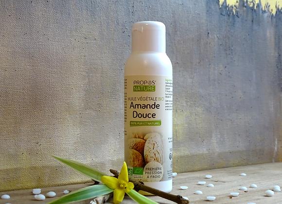Huile Végétale d'Amande Douce Bio / Prunus Dulcis / 100ml