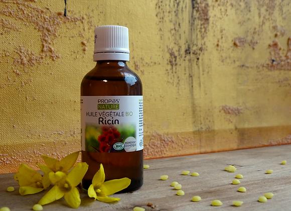 Huile Végétale de Ricin Bio / Ricinus Communis / 50 ml