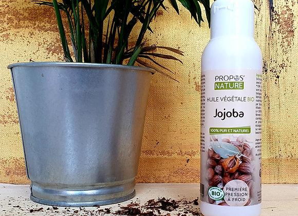 Huile Végétale de Jojoba Bio /Simmondsia Chinensis / 100 ml