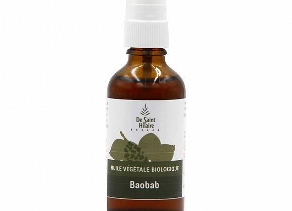 Huile Végétale de Baobab Bio / 50 ml