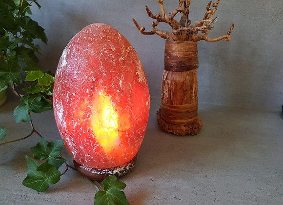 Lampe de Sel Himalaya Avec Socle / Hauteur 24 cm/ Provenance Népa