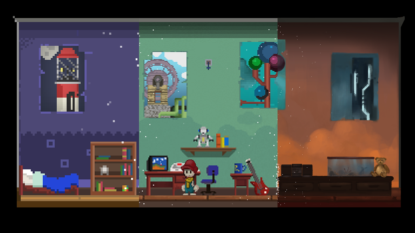 Pixel Story Bedroom