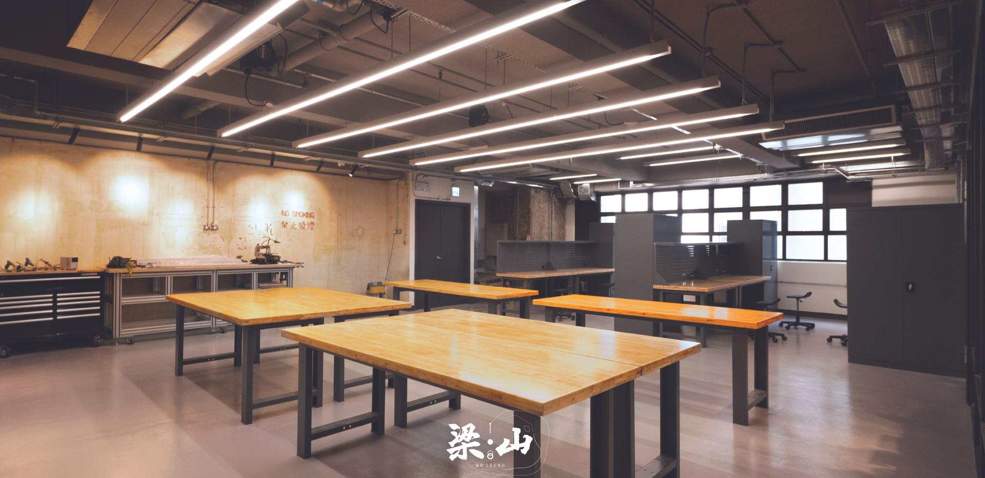 Maker corner 梁山製造角 | 工場與工作枱