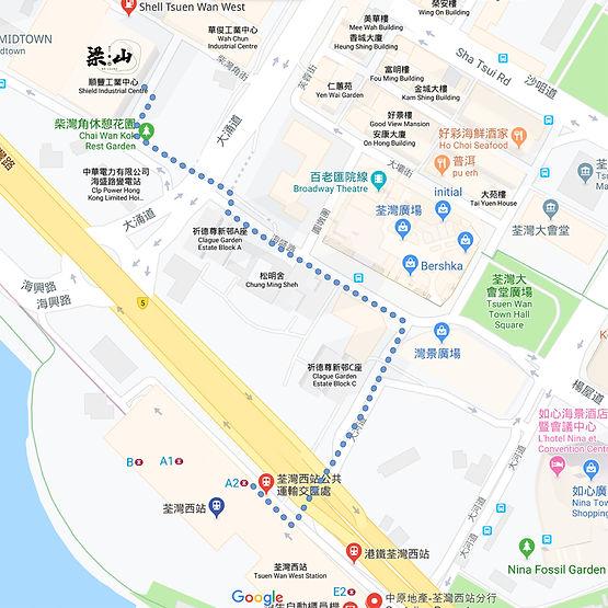 108 梁山 - Google Map 路線.jpg