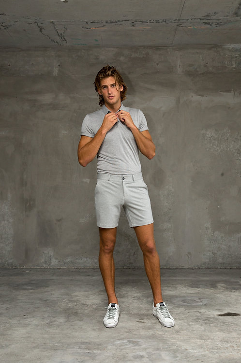 Luxe Leisure Short - Grey
