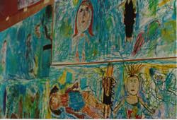 Gill Gallery Swimming Mural 1992