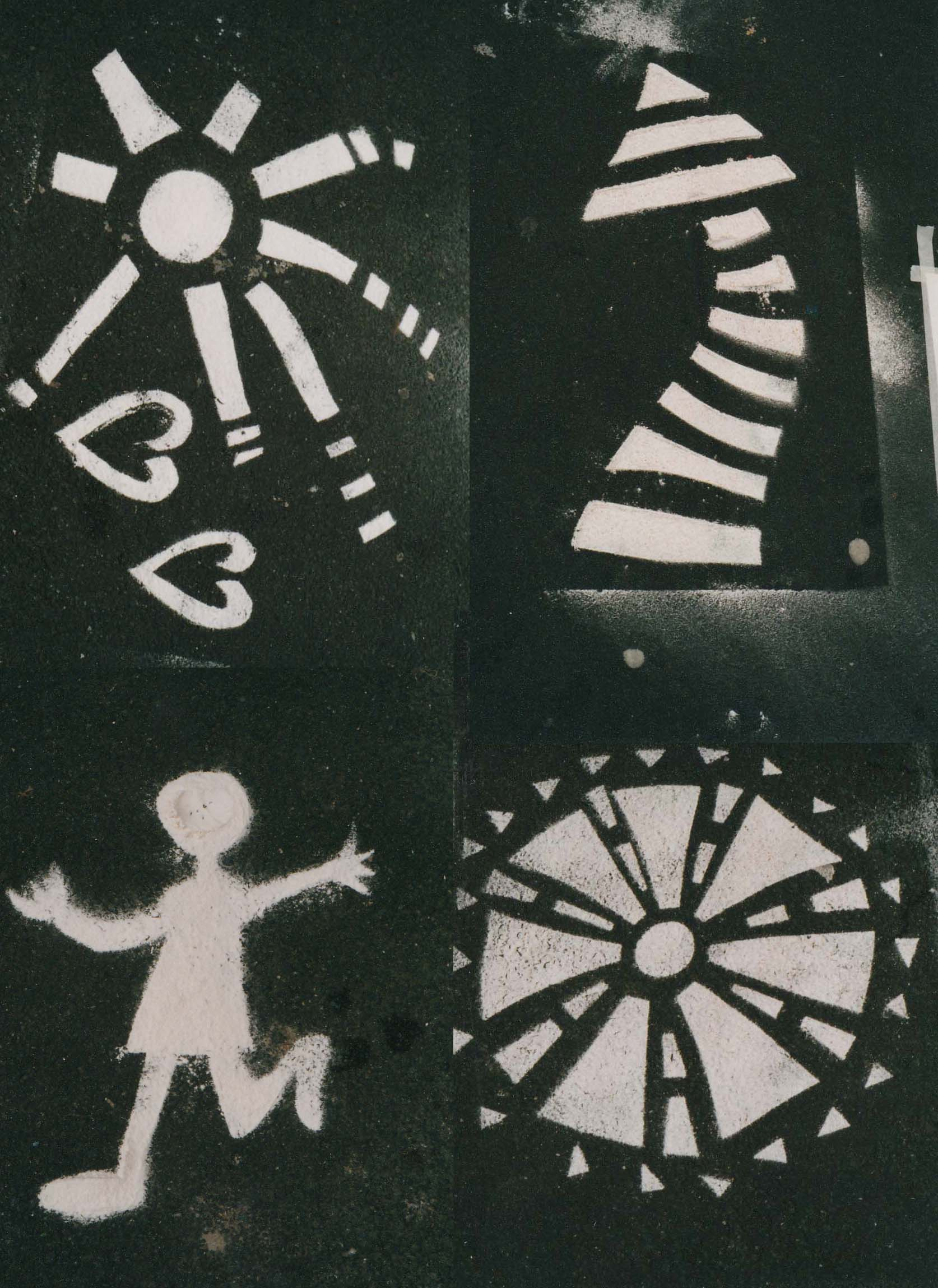 Beating Time 2000 flour stencils