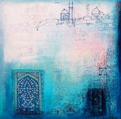 Istanbul Diary 50 x 50cm