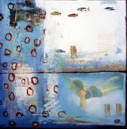 Diving Dream 60 x 60cm