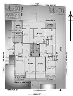 תל אביב - פנקס 53 - קומה טיפוסית