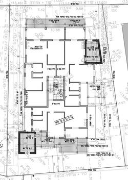 תל אביב - רמברנדט 34 - קומה טיפוסית