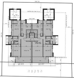 רמת גן - רוטנברג 39 - קומה טיפוסית