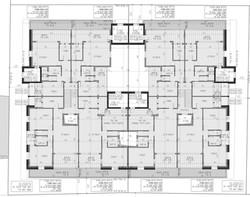 תל אביב - גרוזנברג 13-15 - קומה טיפוסית