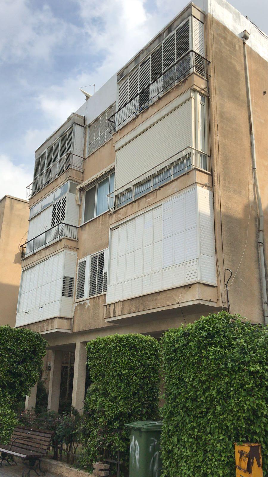 הבניין הקיים -לסקוב 10