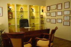 תל אביב - ברודצקי - תכנון פנים חדר רופא 1