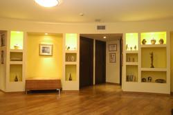 תל אביב - ברודצקי - תכנון פנים כניסה לחדרים