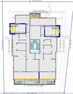 שטרוק 5 - תכנית קומה טיפוסית