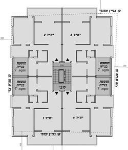 תל אביב - אוסישקין 38 - תכנית
