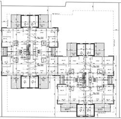 הרצליה - עזרא הסופר 9-11 - קומה טיפוסית