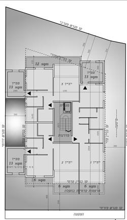 רמת גן - הבנים 8 - קומה טיפוסית