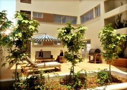 תל אביב - מטלון 8 - חצר פנימית