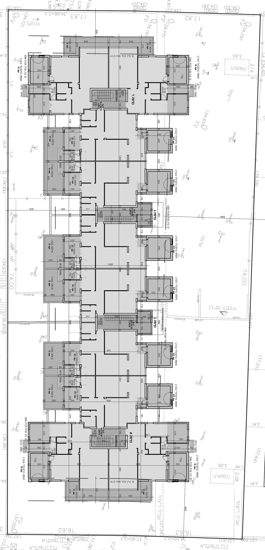 תל אביב - עמישב 14 - קומה טיפוסית